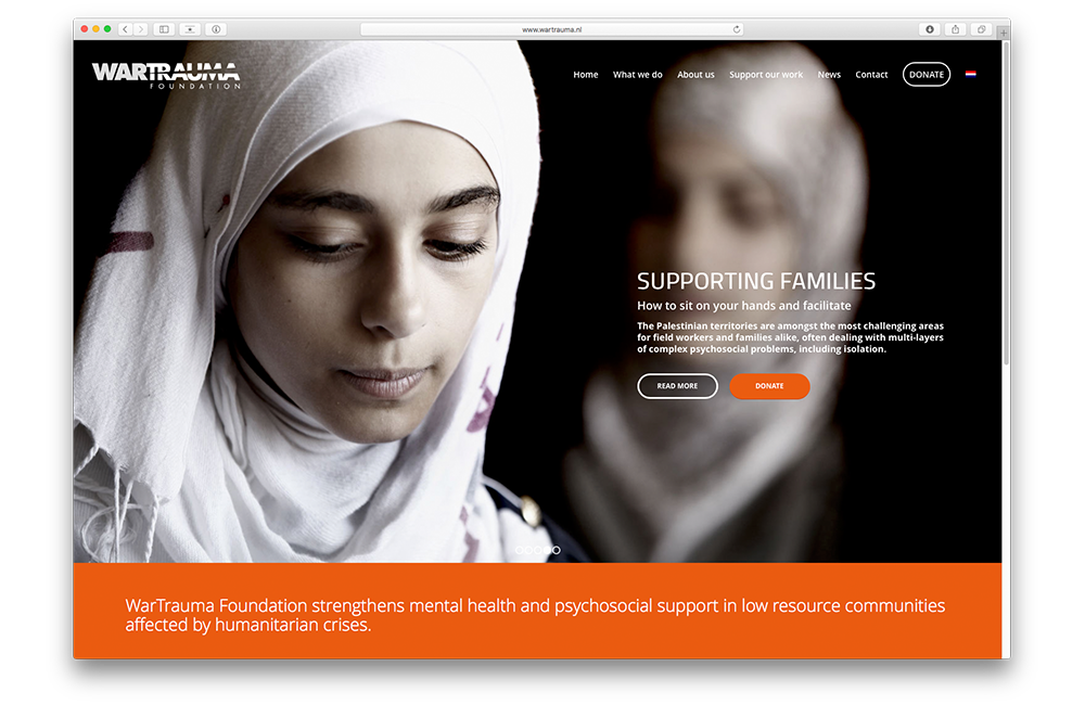 War Trauma Foundation Homepage